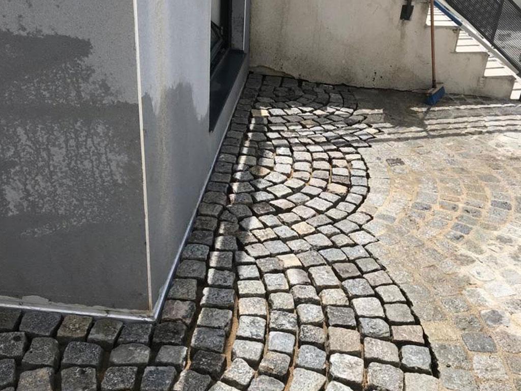 installation dalle au sol